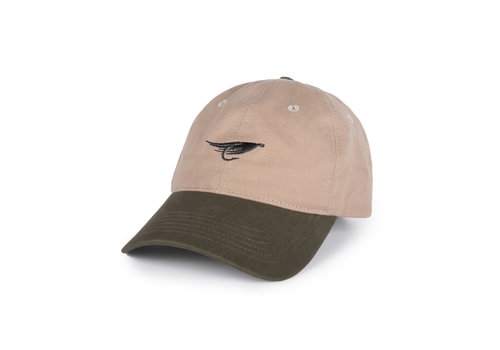 Hooké Fly Dad Hat Sand & Olive