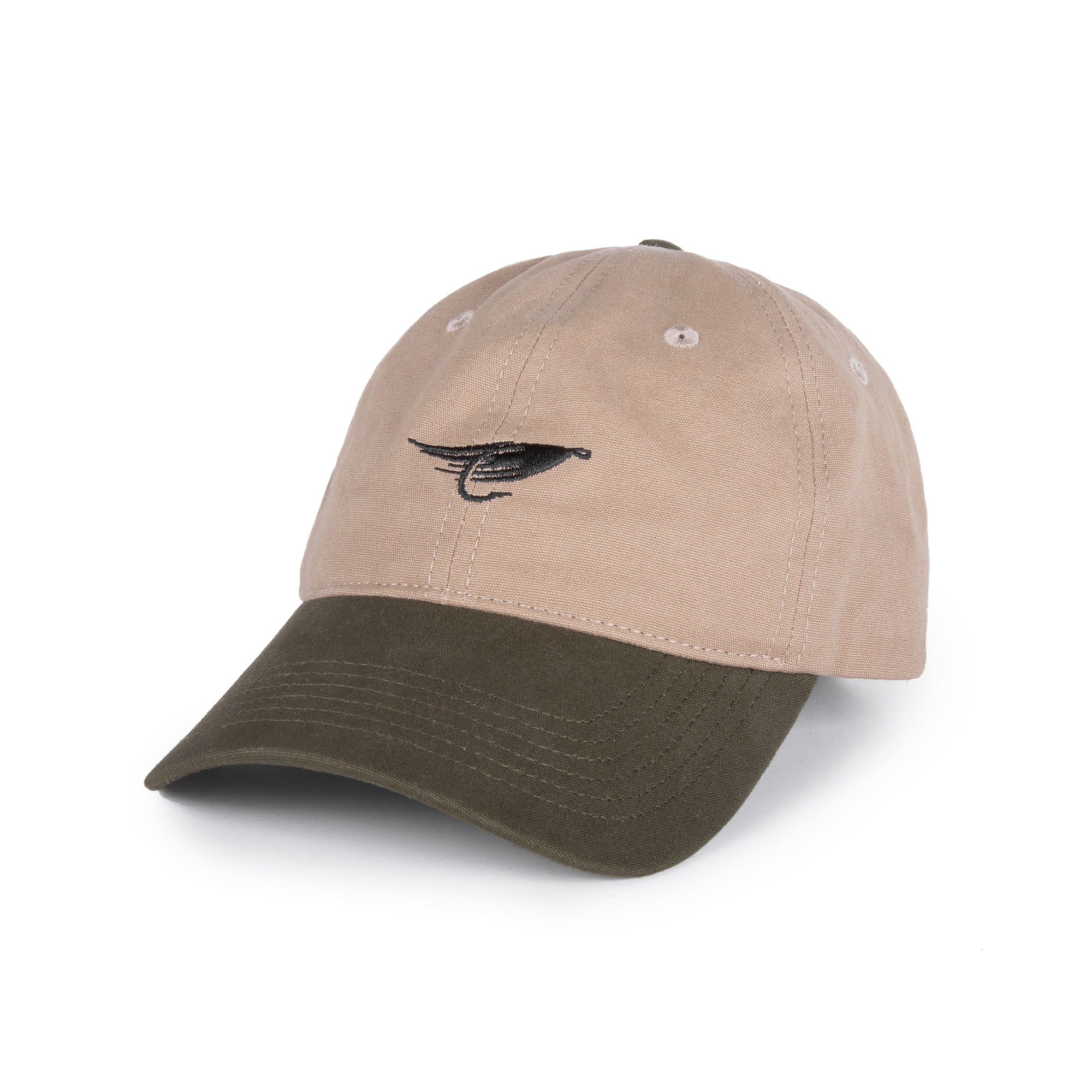 Fly Dad Hat Sand & Olive