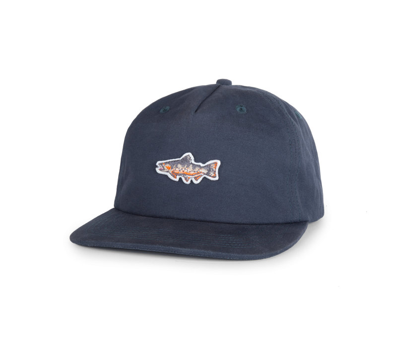 Brook Trout Cap Indigo Blue
