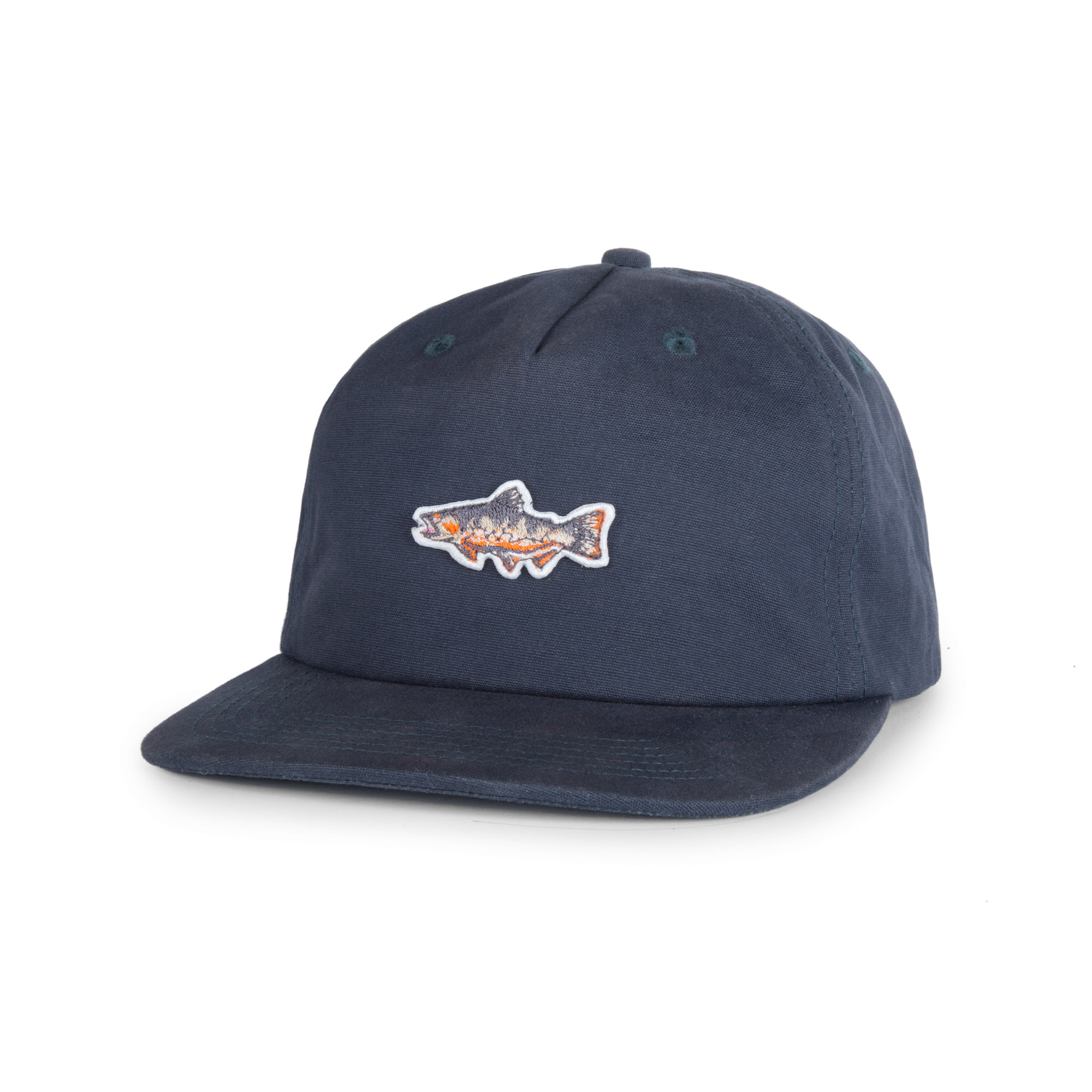 Brook Trout Cap Indigo Blue