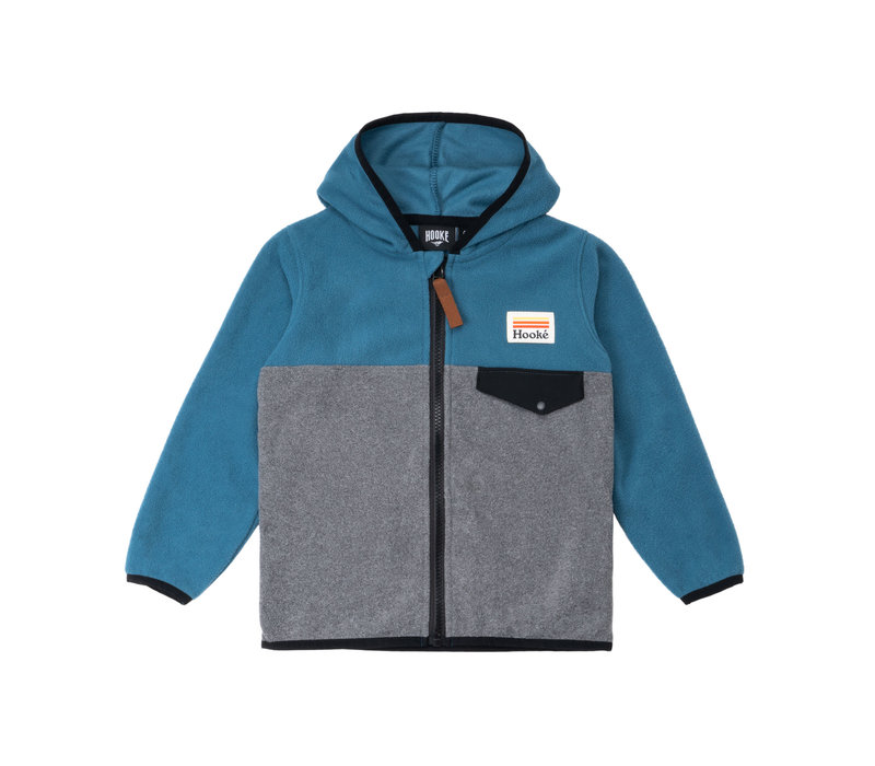 Kangaroo Zip Fleece Blue