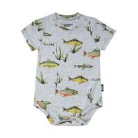 Multi-Fish Print Diaper Cover
