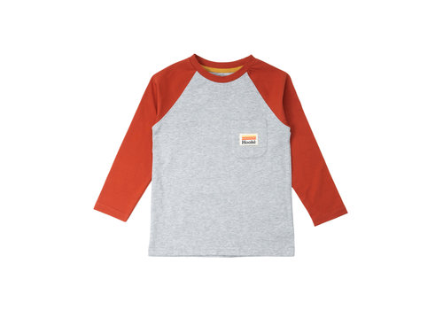Raglan for Kids Grey