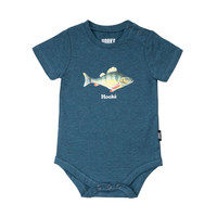 Real Teal Fish Diaper Cover