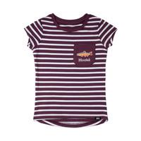 Striped T-Shirt Plum
