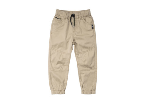 Twill Pants Beige