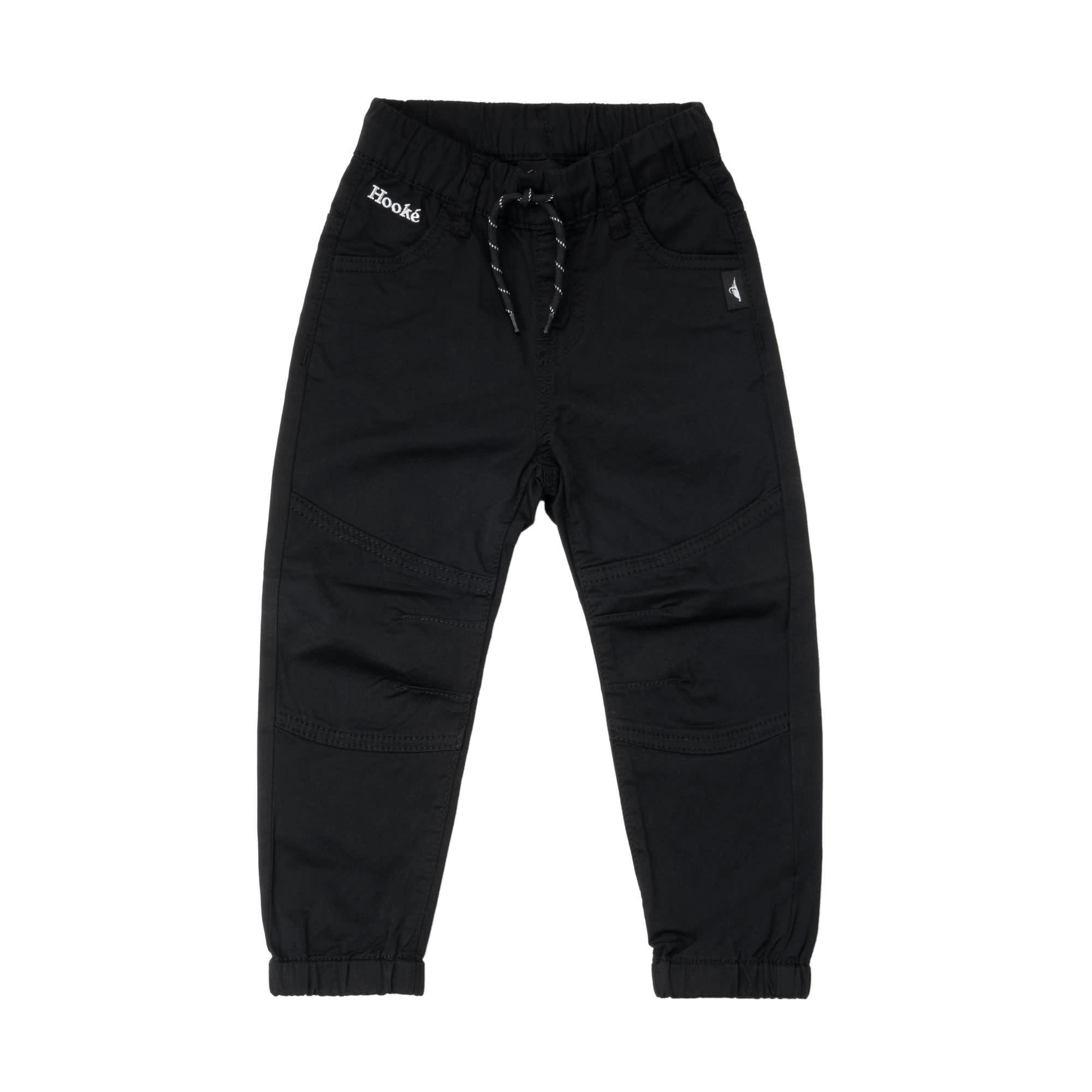 Pantalons Twill Noir