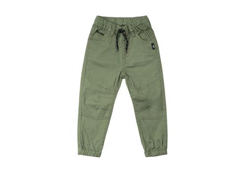 Pantalons Twill Olive
