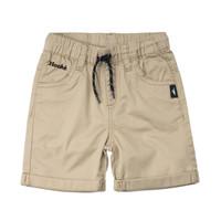 Twill Shorts Beige