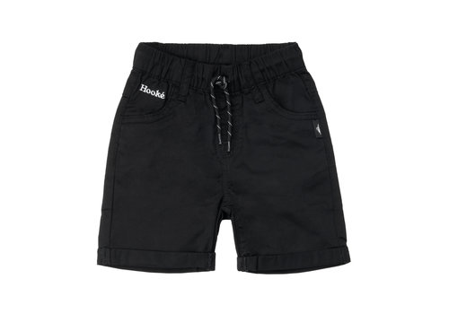 Twill Shorts Black