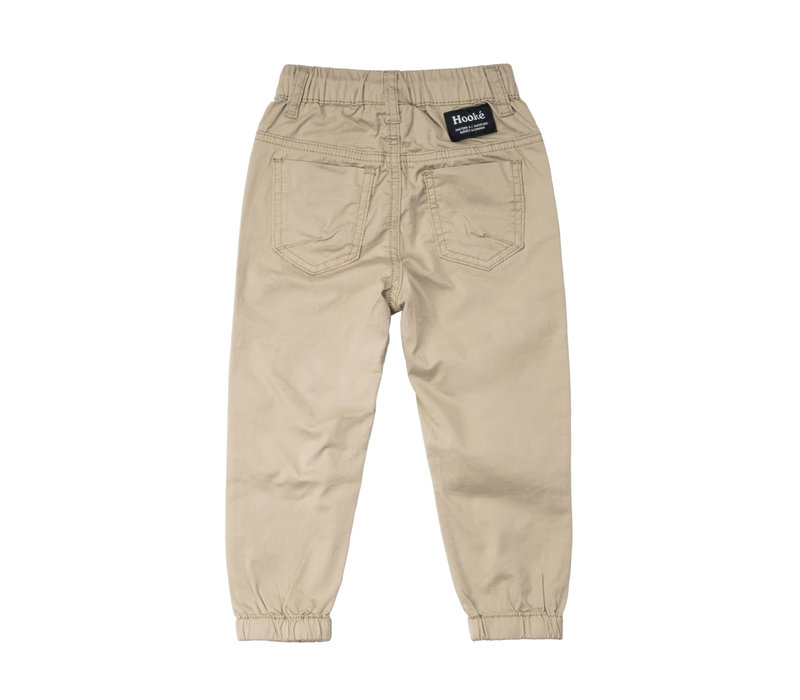 Pantalons Twill Beige