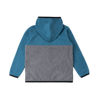 Kangourou Zip Polar Bleu
