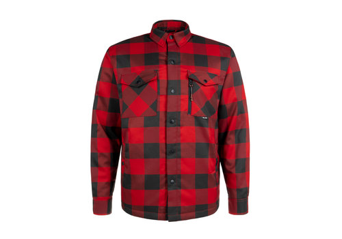 Chemise Canadienne Rouge & Noire