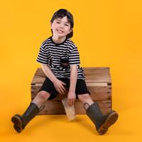 Striped T-Shirt Black