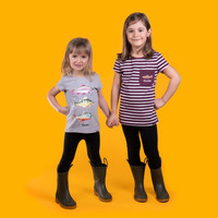 3 Fish T-Shirt For Girls