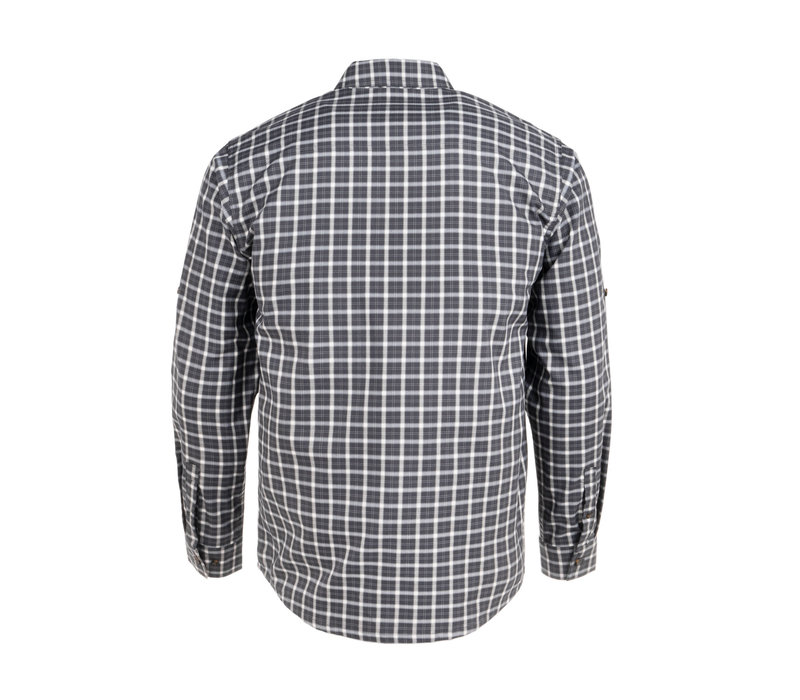 York Shirt Charcoal Plaid