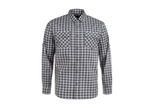 Hooké York Shirt Charcoal Plaid