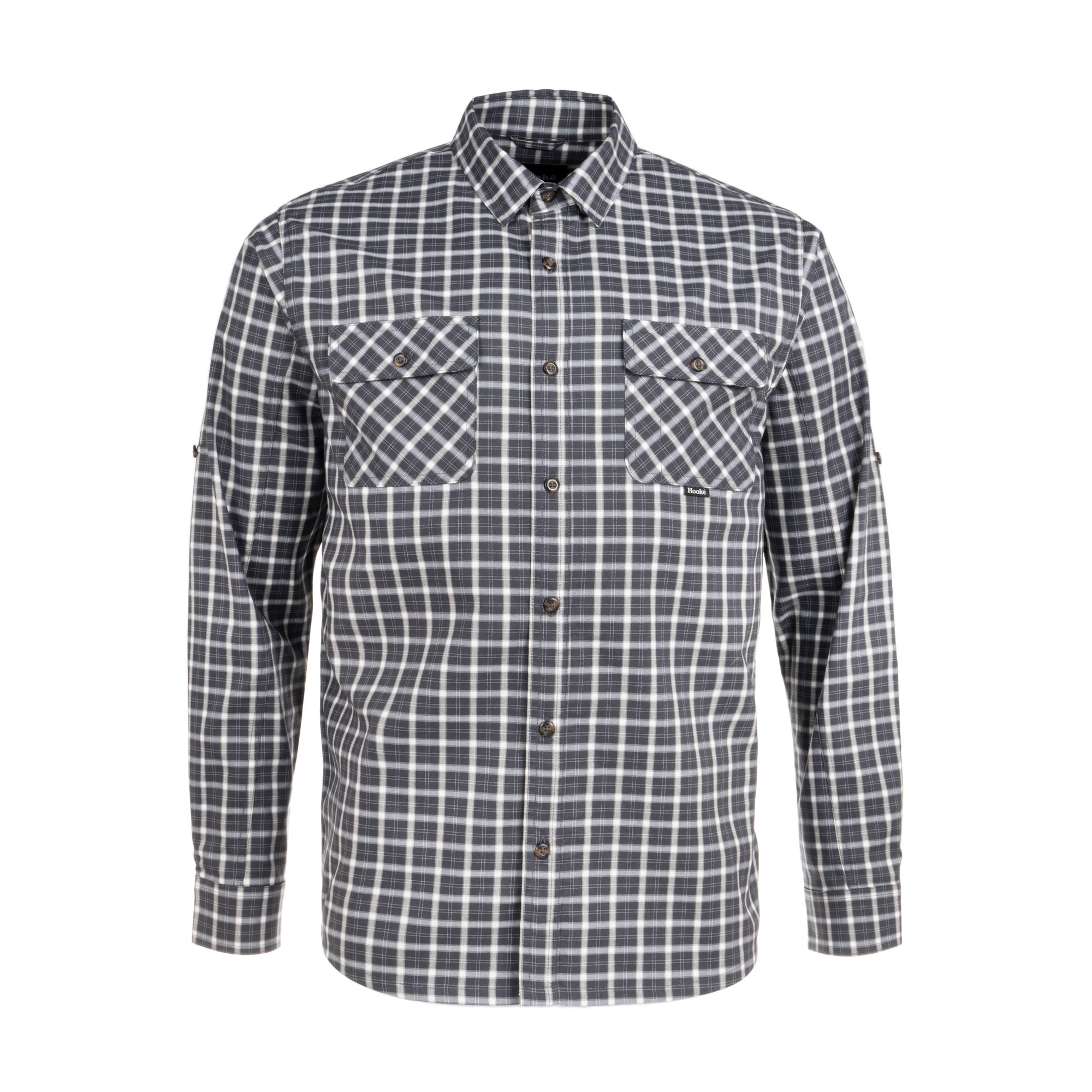 York Shirt Charcoal Plaid