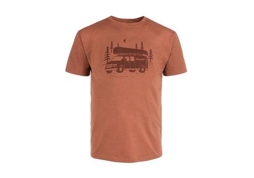 Hooké T-Shirt Van Hooké Brique