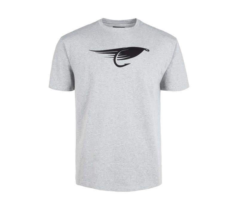 T-Shirt Fly Gris Chiné