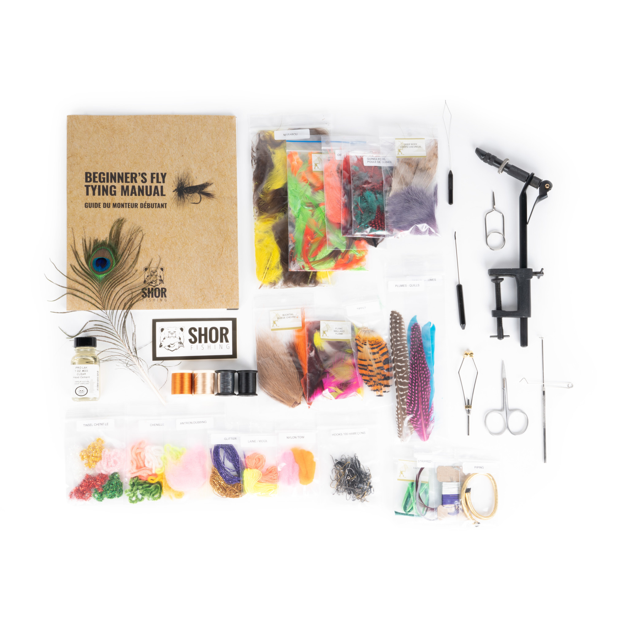 Fly Tying Kit Bronze