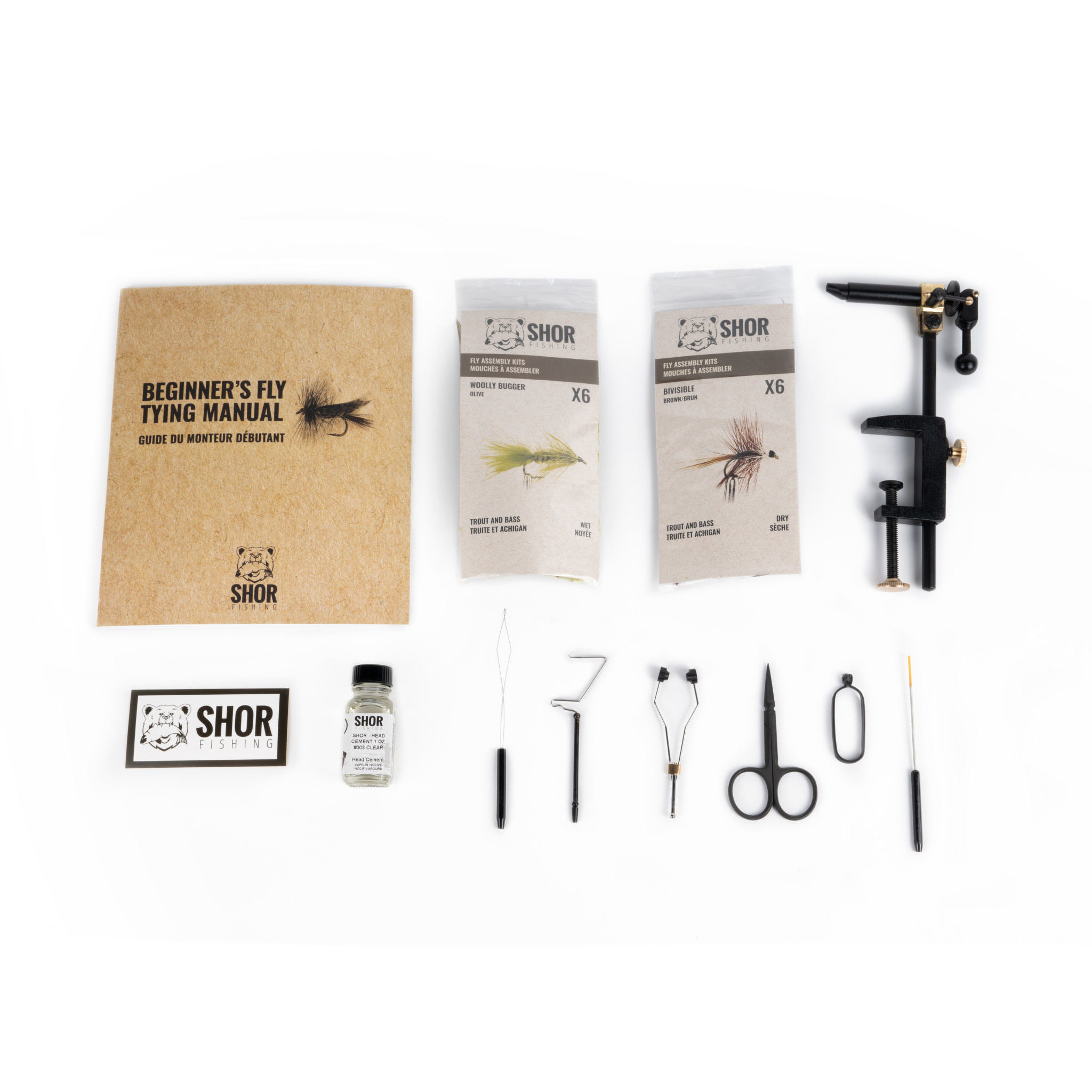 Fly Tying Kit Silver