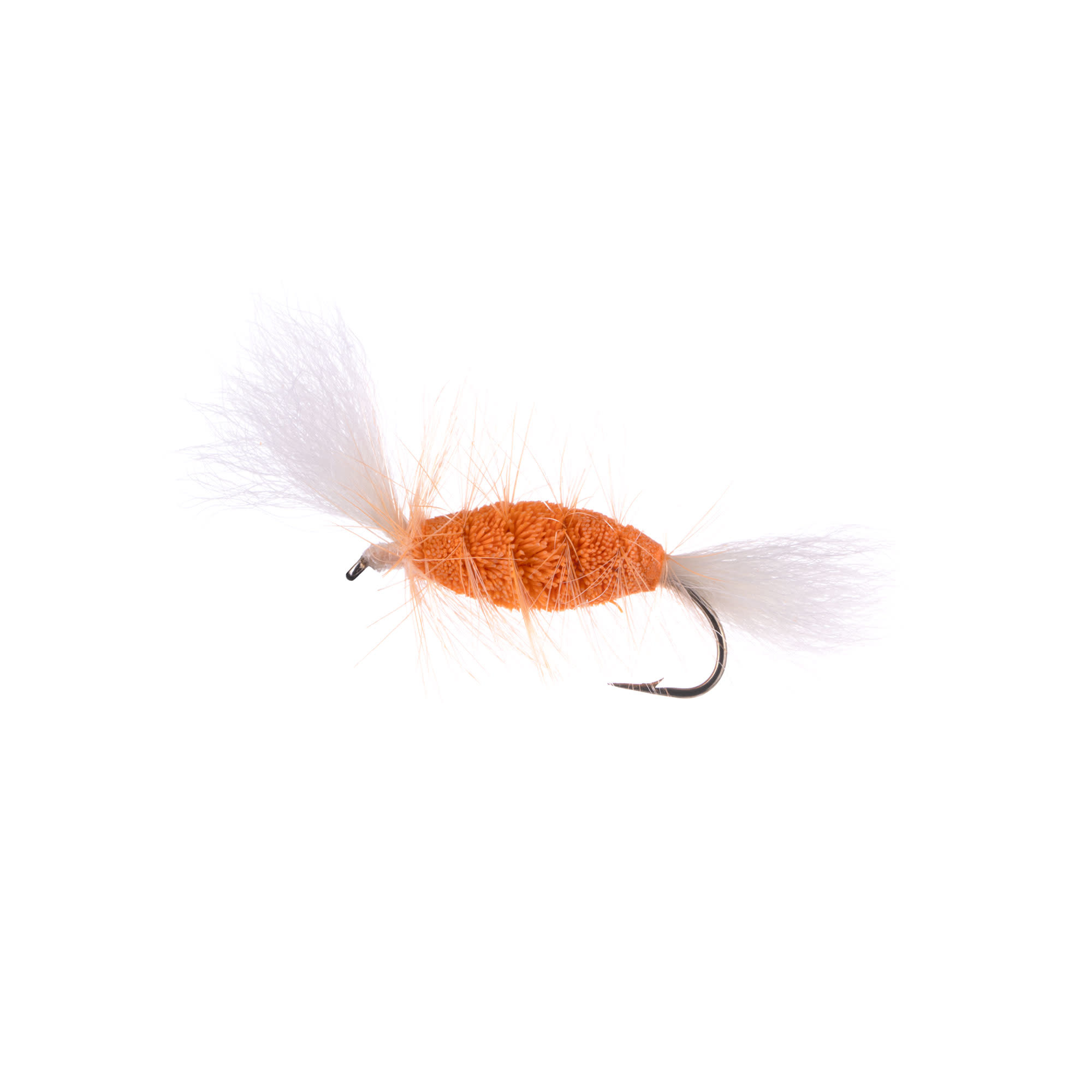 SHRIMP-White Tail-Shrimp Hackle (Cigar Bomber) #6