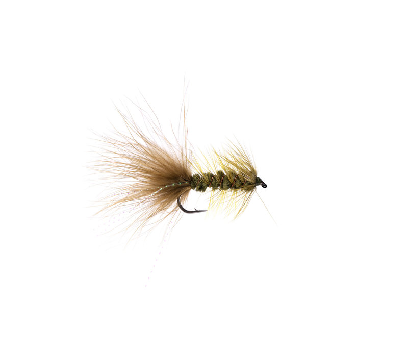 Woolly Bugger Olive #06