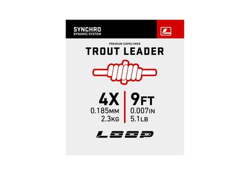 Loop Tackle Synchro 9′ Nylon Leader