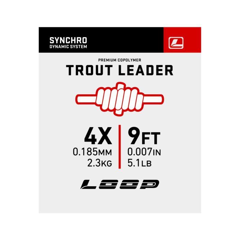 Synchro 9′ Nylon Leader