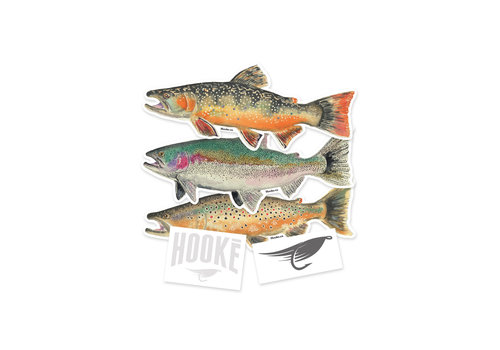 Sticker Set 3 trouts