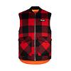 Hooké Reversible Hunting Vest Red & Black Plaid
