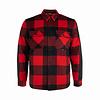 Hooké Canadian Wool Shirt Red & Black Plaid