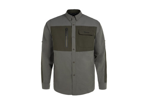 Hooké Field Shirt Charcoal & Olive