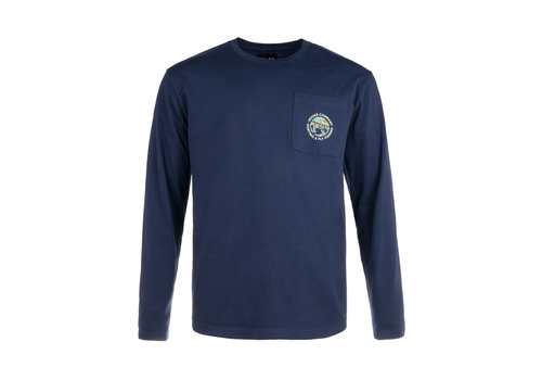Hooké Bush Plane Long Sleeve Navy