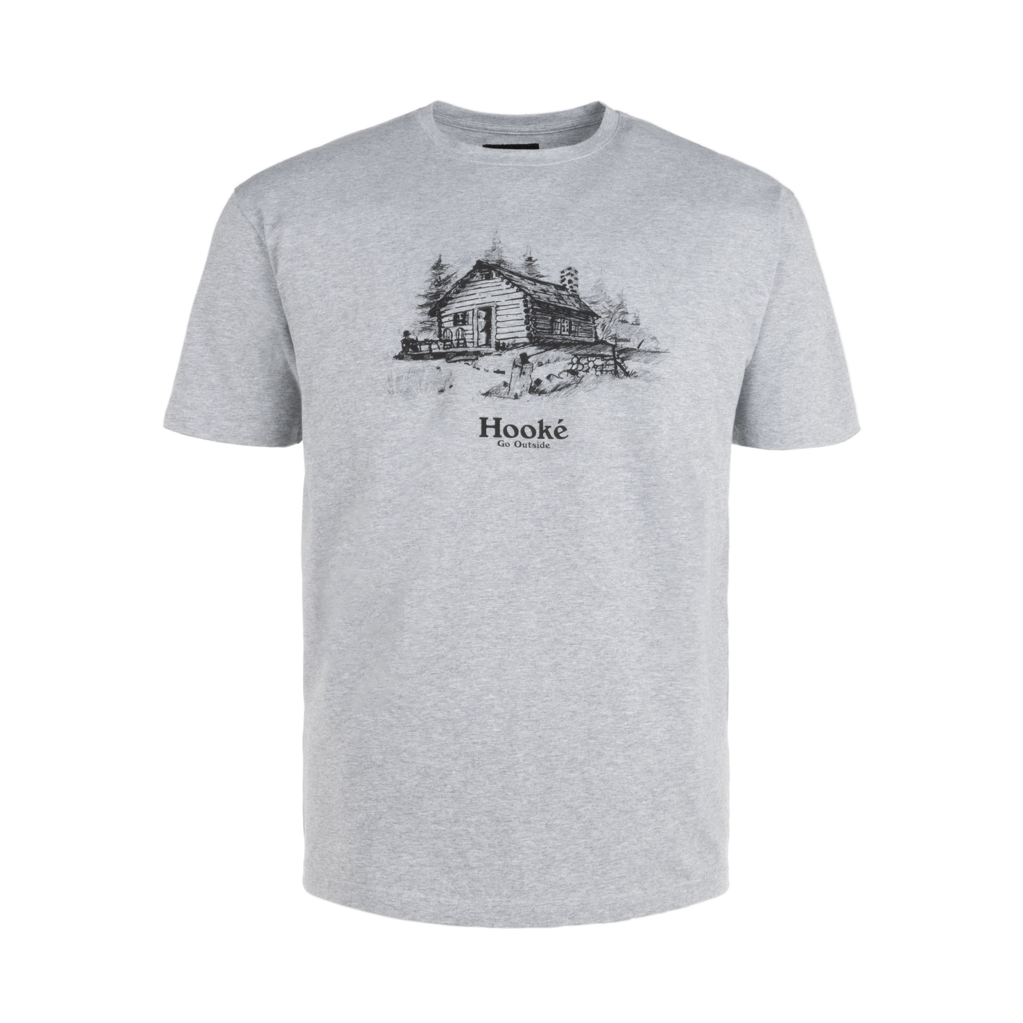 T-Shirt Homestead Gris Chiné