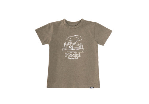 Hooké Fishing Club T-Shirt Olive