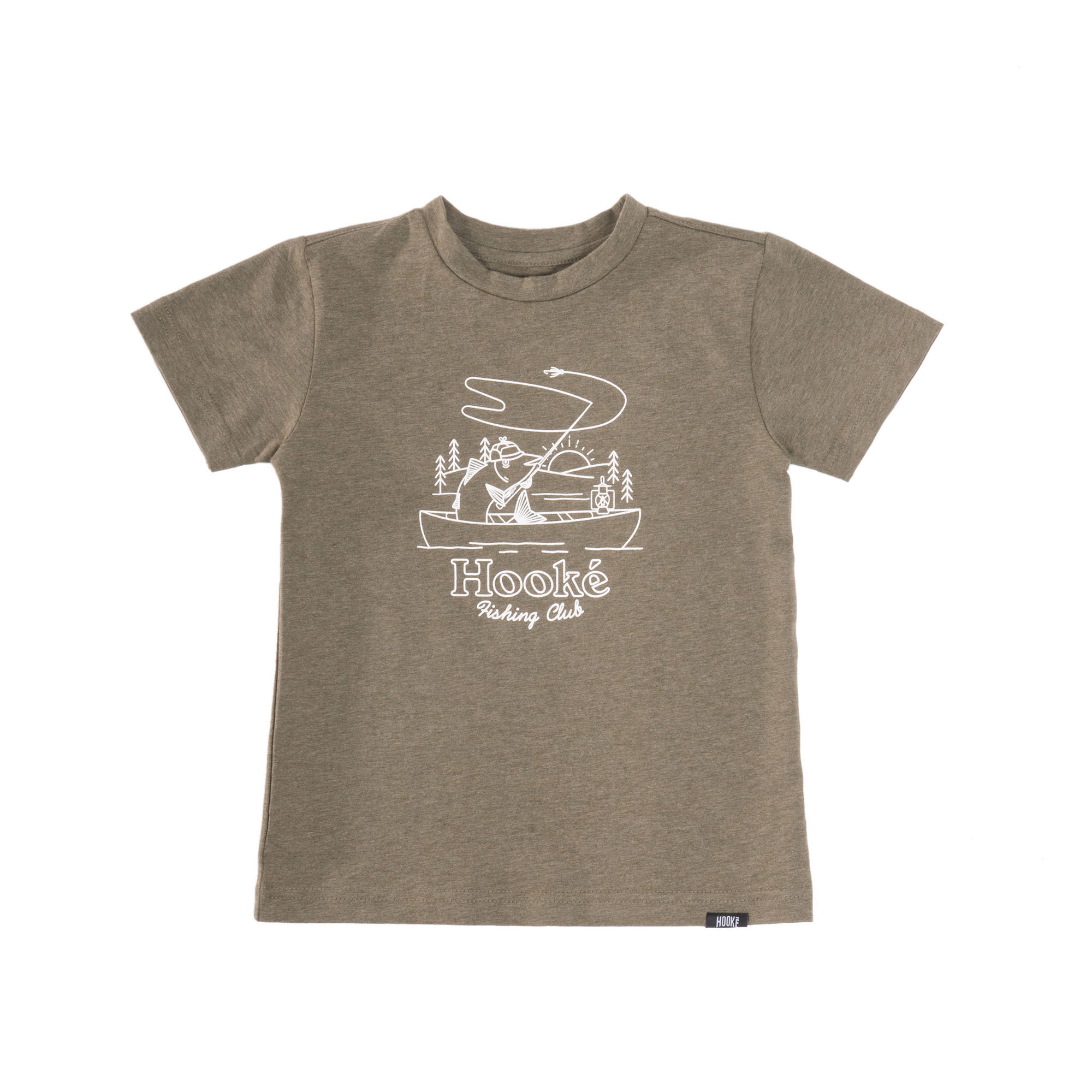 Fishing Club T-Shirt Olive