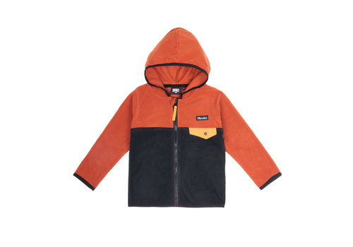 Hooké Kangaroo Zip Fleece Orange