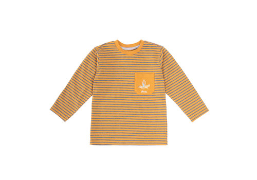 Hooké Striped Raglan Yellow