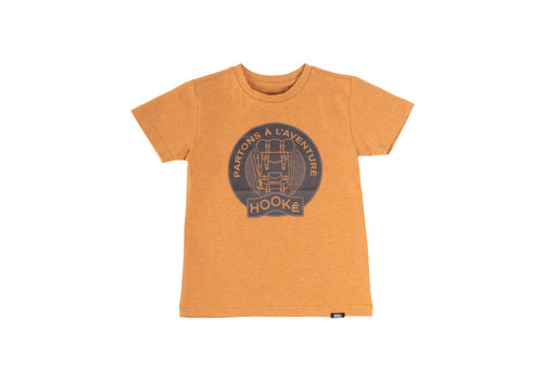 Hooké Adventure T-Shirt Yellow