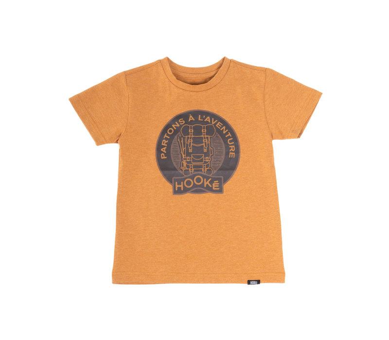 T-Shirt Aventure Jaune