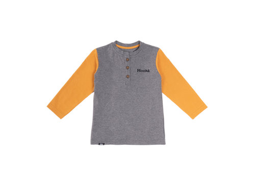 Hooké Hooké Co Henley Yellow