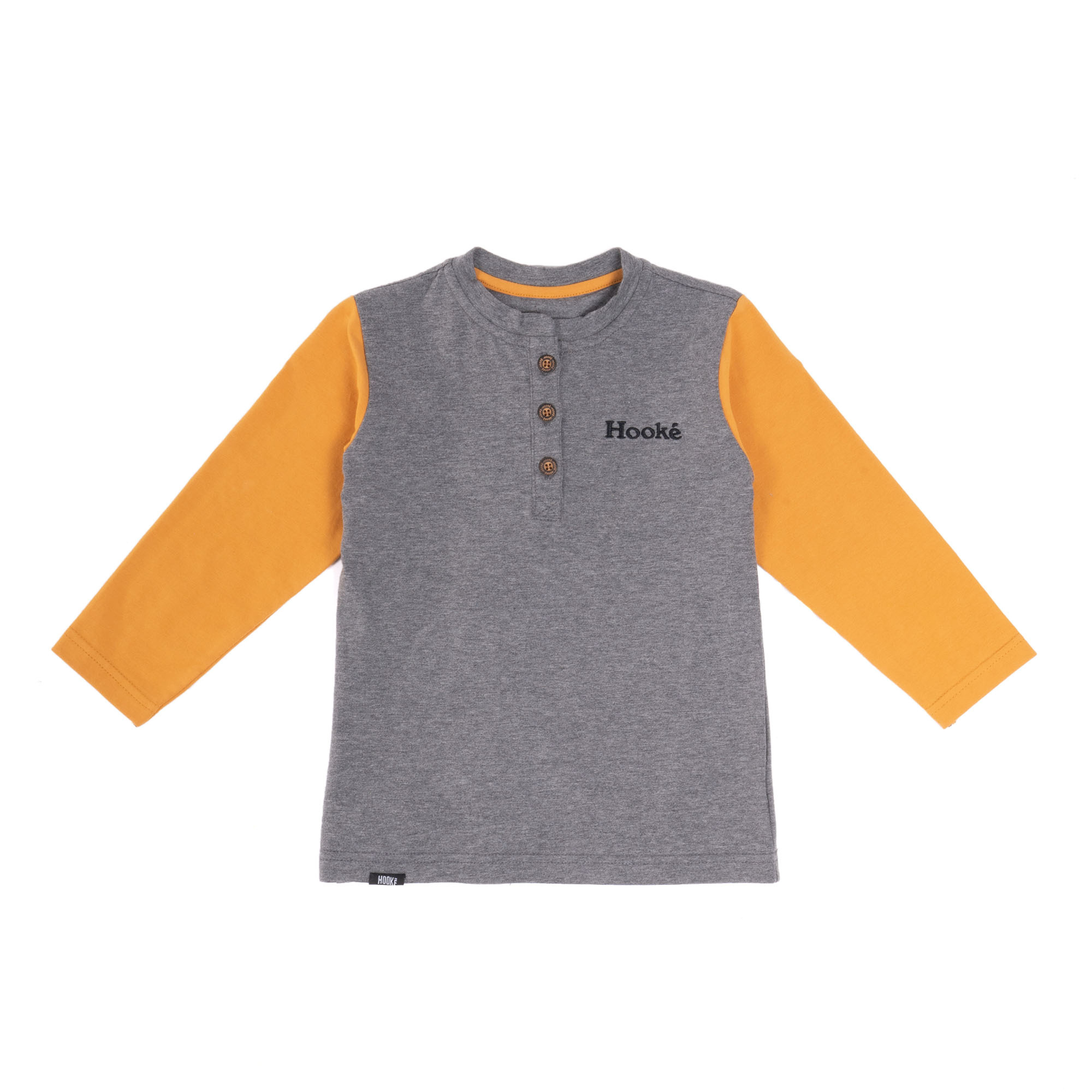 Hooké Co Henley Yellow