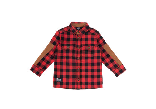 Hooké Red Kids Canadian Shirt