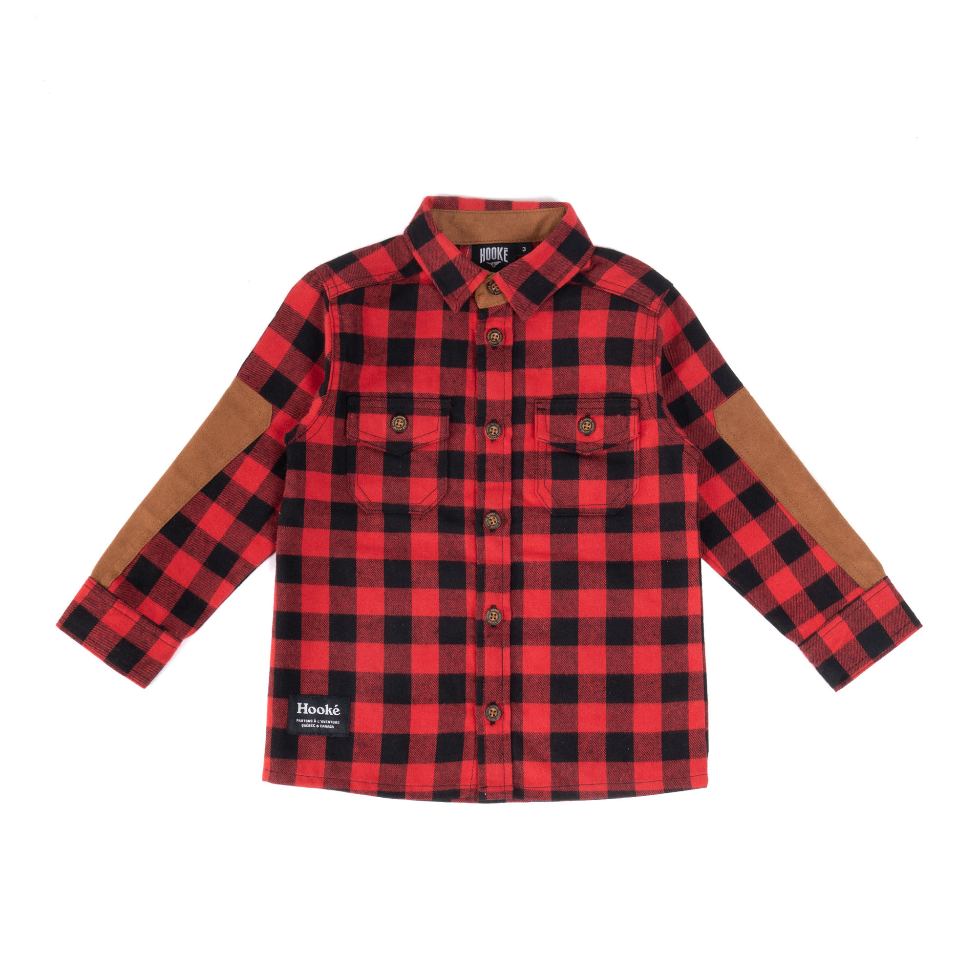 Red Kids Canadian Shirt