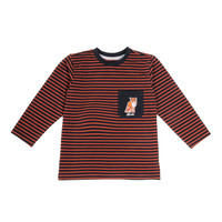 Striped Long Sleeve Orange