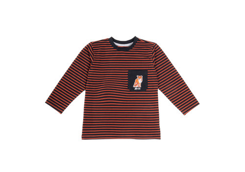 Hooké Striped Long Sleeve Orange