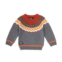 Hooké Knitted Sweater Charcoal
