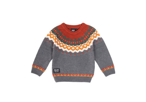 Hooké Hooké Knitted Sweater Charcoal